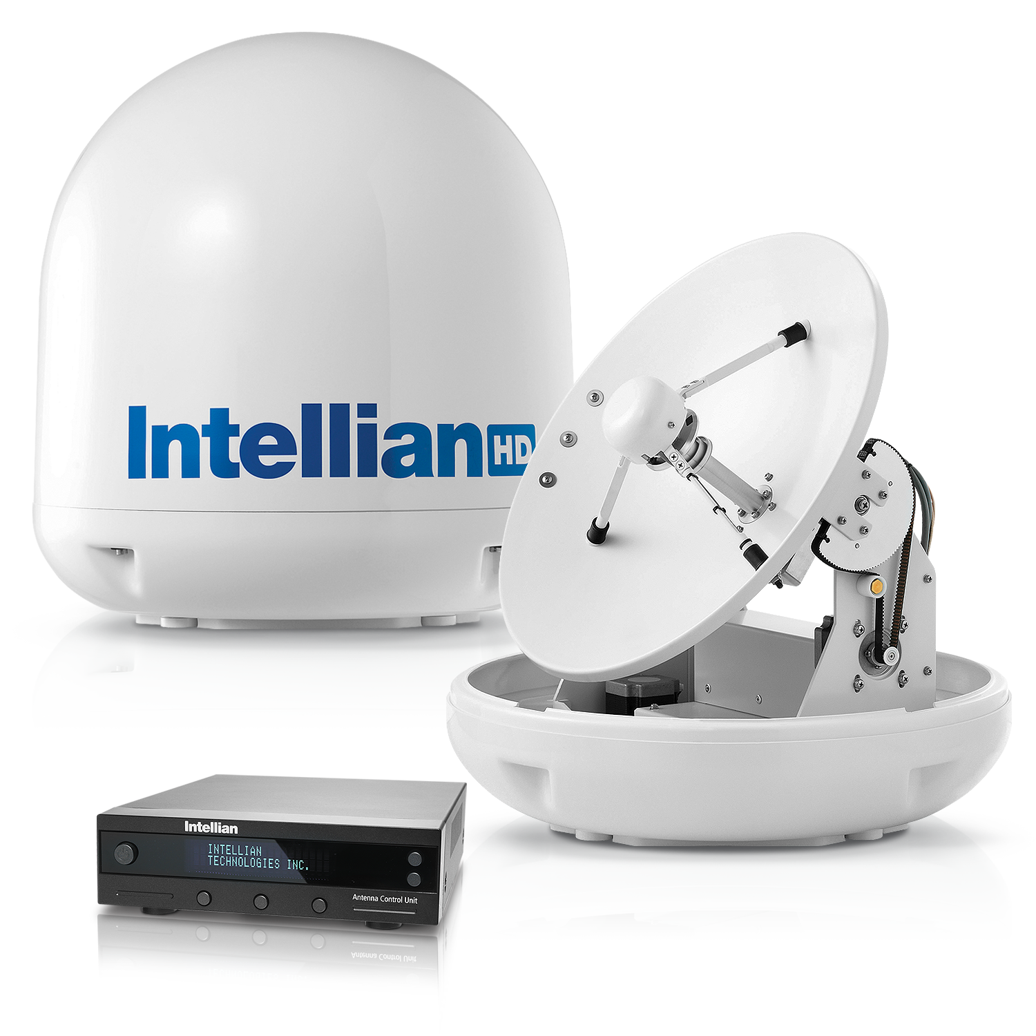 Intellian Technologies, Marine Satellite Antenna, HD Antenna, VSAT Antenna